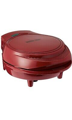 New Non-Stick Electric Double Omelette Maker by Better Chef - Red