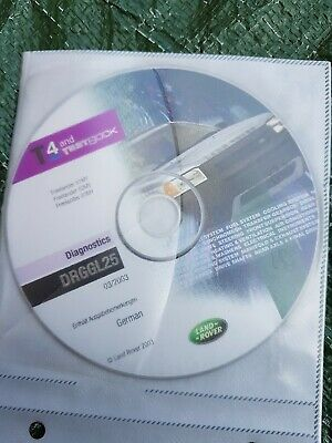T4 Testbook genuine CD Land Rover Freelander