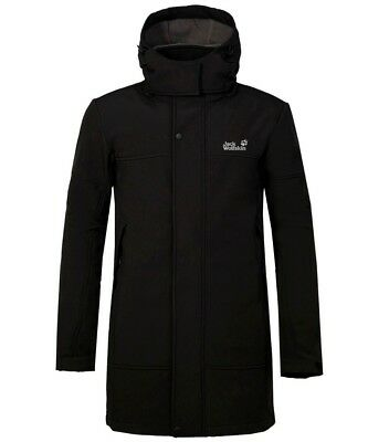 Chaqueta Jack Wolfskin Softshell Hombre - Waterproof Windproof Thermal Jacket