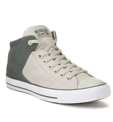 ed8bb1c9eee5 Converse All Star Shoes High Street Hi Top Chucks Mens 12 Womens 14 CTAS  Gray