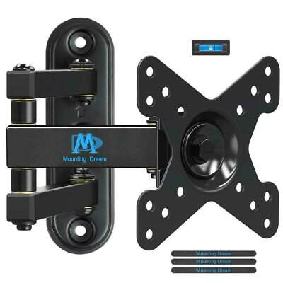 Mounting Dream Full Motion Monitor TV Wall Mount for 10-26 Inches LED, LCD...