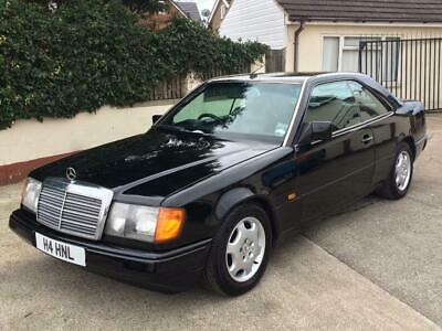 1990 Mercedes 300 Ce Auto Stunning In Black With Black Leather, Swap Or Px