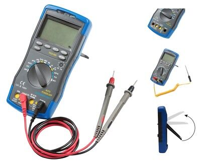 Digital Multimeter With NCV 20A CAT III 1000V TRUE RMS Professional Quality TE7