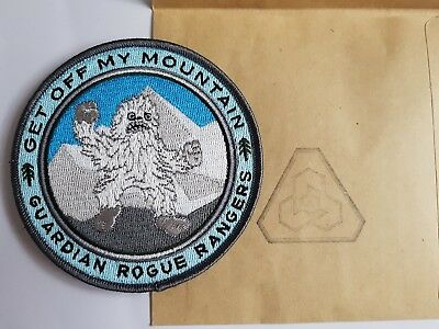 New Patch PDW Yeti Prometheus Design get off my mountain guardian rogue rangers
