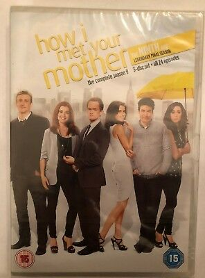 How I Met Your Mother: The Complete Ninth Season 9 -UK DVD SET Final Series Nine