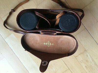 Vintage Swift Audubon bird-watching binoculars 8.5x44 Extra wide field