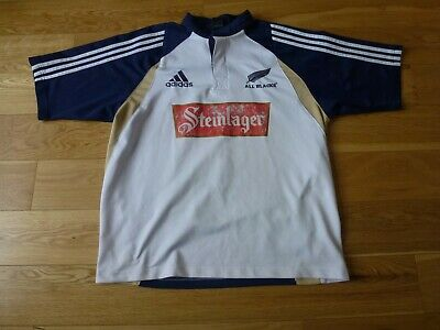 Mens adidas ALL BLACKS rugby jersey shirt Size L