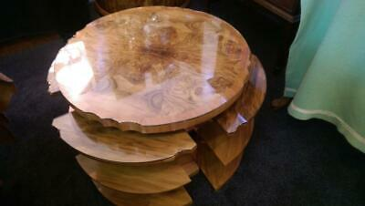 H & L Epstein Art Deco  nested tables c 1930