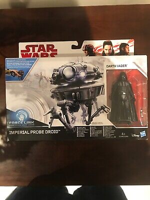 Star Wars Imperial Probe Droid & Death Vader Force Link - New and unopened