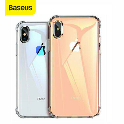 For iPhone XS Max XR XS X Case, Baseus Ultra Slim Soft Silicone Shockproof Cover