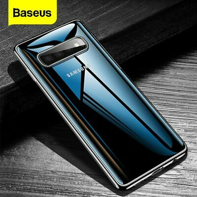 For Samsung Galaxy S10 S10+ Plus Case Baseus Slim Silicone Shockproof Soft Cover