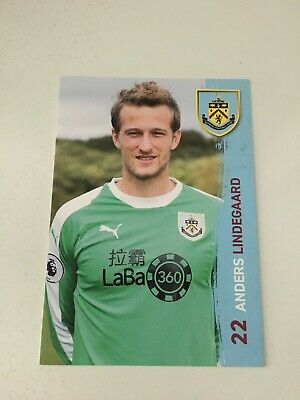 Spelerskaart Anders Lindegaard Burnley FC 18-19 Norway Topspieler