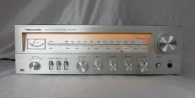 Vintage Realistic Sta-64 ~ 16 Watts/channel Stereo Receiver ~ Prof Refurbished