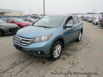 2014 Honda CR-V AWD 5dr EX AWD 5dr EX Low Miles 4 dr SUV Automatic Gasoline 2.4L 4 Cyl  Mountain Air Metall