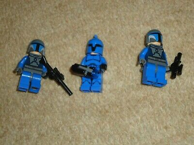 Genuine Lego Star Wars mini-figures bundle x 3