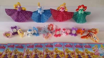 DISNEY FAIRIES COMPLETE SET WITH ALL PAPERS KINDER SURPRISE 2014