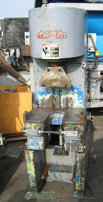 "12 Ton x 12"" Used Denison Multipress Hydraulic Press M5P12 9123"