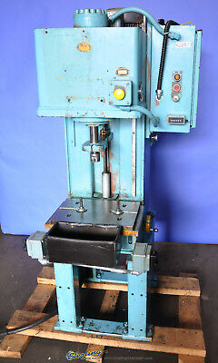 4 Ton Used Denison Multi-Press Hydraulic C Frame Press WR045LC204FS0366CE2046610