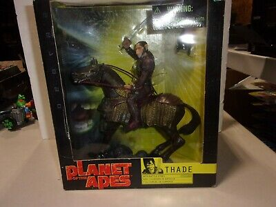 Planet of the Apes Hasbro THADE w/ HORSE & BATTLE STEED Action Figure 2001 NEW!