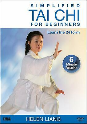 Simplified Tai Chi for Beginners Learn 24 Form with Helen Liang Dvd ** New **