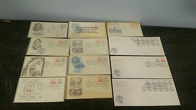 Amazing Collection Of Mary Lyon First Day Issue Stamps Mount Holyoke College +