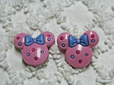 Croc Clog 3D Pink Minnie Mouse Plug Shoe Charms Will Also Fit Jibitz,Croc  C 792