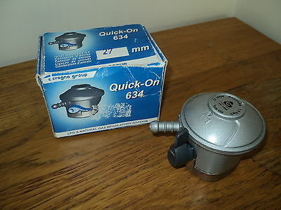 Gas regulator quick on 634, 27 mm