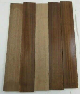 "Beautiful Black Walnut Lumber Wood  Air Dried  20"" x 3"" x 1/2""   FREE SHIPPING!!"