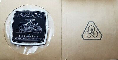 New PDW patch limited moral patch Be the outsider live free adventure on memento