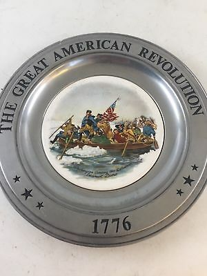 The Great American Revolution Bicentennial Plate1