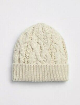175d5d1697008 Gap Baby Boy Cable Knit Beanie Hat French Vanilla Size 6-12 Months   46