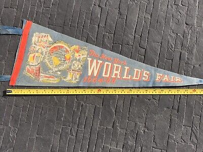 1964 New York World's Fair Pennant