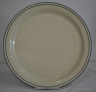 """Lenox Chinastone For the blue patterns Round Pinstripe 12.5"""" Serving Platter USA"""