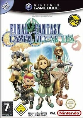 Nintendo GameCube Spiel - Final Fantasy Crystal Chronicles mit OVP