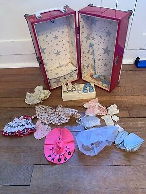 VINTAGE VOGUE GINNY DOLL  LOT! Shoes Roller Skates  Outfit  & Case