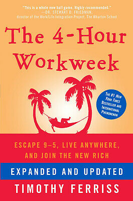The 4-Hour Workweek: Escape 9-5, Live Anywhere,and Join the Rich Audiobook (MP3)