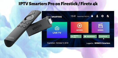 IPTV Subscription 12 month Firestick, Smart APP, Smarters, Ott Player, Mag M3u