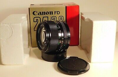 Canon FD 24mm f/2.8 Wide Angle Lens - Near Mint