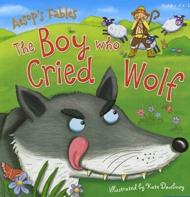 NEW Aesop's Fables the Boy Who Cried Wolf By KELLY MILES Paperback Free Shipping