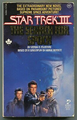 Star Trek III THE SEARCH FOR SPOCK Vonda N McIntyre First Printing