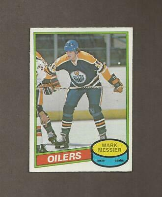 1980-81 🔥 OPC Mark Messier RC Rookie OILERS 🔥O Pee Chee NM-MT Hockey Cards