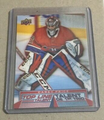 Carey Price TLT#4 - 2018-19 Upper Deck Tim Hortons **FREE SHIPPING**