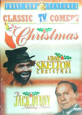 CLASSIC TV COMEDY CHRISTMAS w/ RED SKELTON & JACK BENNY Freddie & Yuletide Doll