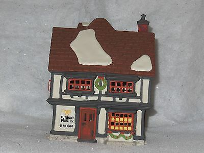 "Dept 56 Heritage village collection Dickens series #55690 ""Tutbury Printer"""