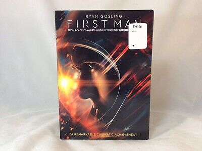 First Man Universal Pictures Movie 2018 DVD Video NASA Neil Armstrong Apollo 11
