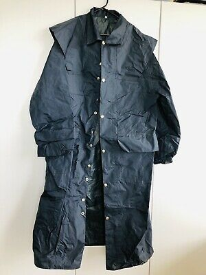 OBSOLETE: Vintage 1990s Police Raincoat With Pockets. Size: XL. No Longer Issued