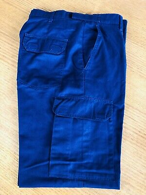 OBSOLETE: Vintage 2000s Police Men's Cargo Pants (92L) With 7 Pockets. NSW. VGC.