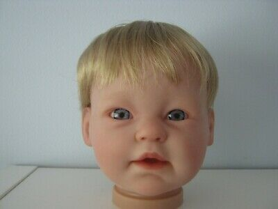 Reborn doll Wig. CASSIDY MOHAIR  14-15 (BLONDE)