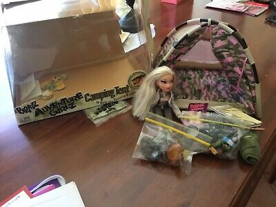 Camping Bratz doll with Tent