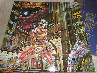 Iron Maiden ‎– Somewhere In Time...org,1986..EMI..in very good condition...rare